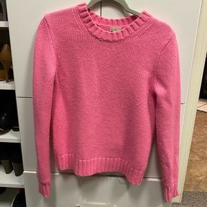 Hot pink JCrew sweater